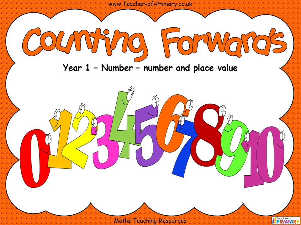 Counting Forwards - Year 1