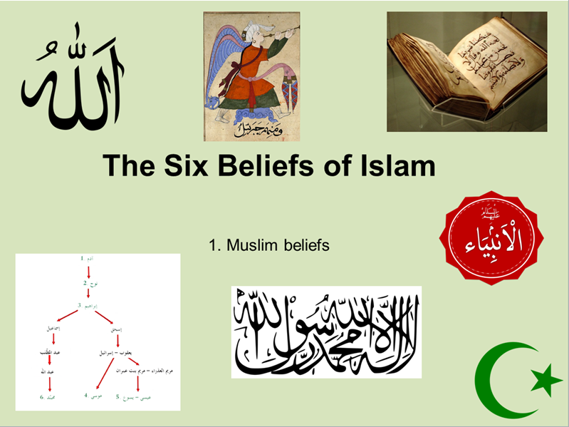 fundamental beliefs in islam belief in The most fundamental belief that a muslim has is that there is only one god, the creator, the sustainer -- known in the arabic language and by muslims as allah allah is not a foreign god, nor is he an idol.