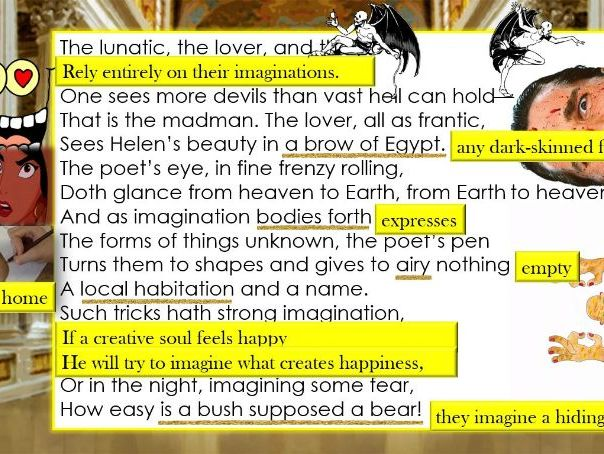 Line By A Midsummer Nights Dream Theseuss More Strange Than True 51 Mostbeautifulpoem