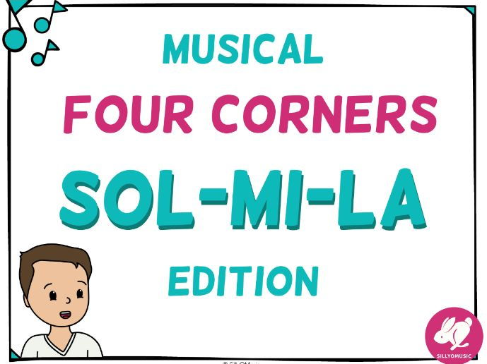 Musical Four Corners, Sol-Mi-La Solfa Game