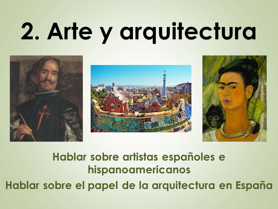 AQA New AS/A Level Spanish El patrimonio cultural: Arte y arquitectura
