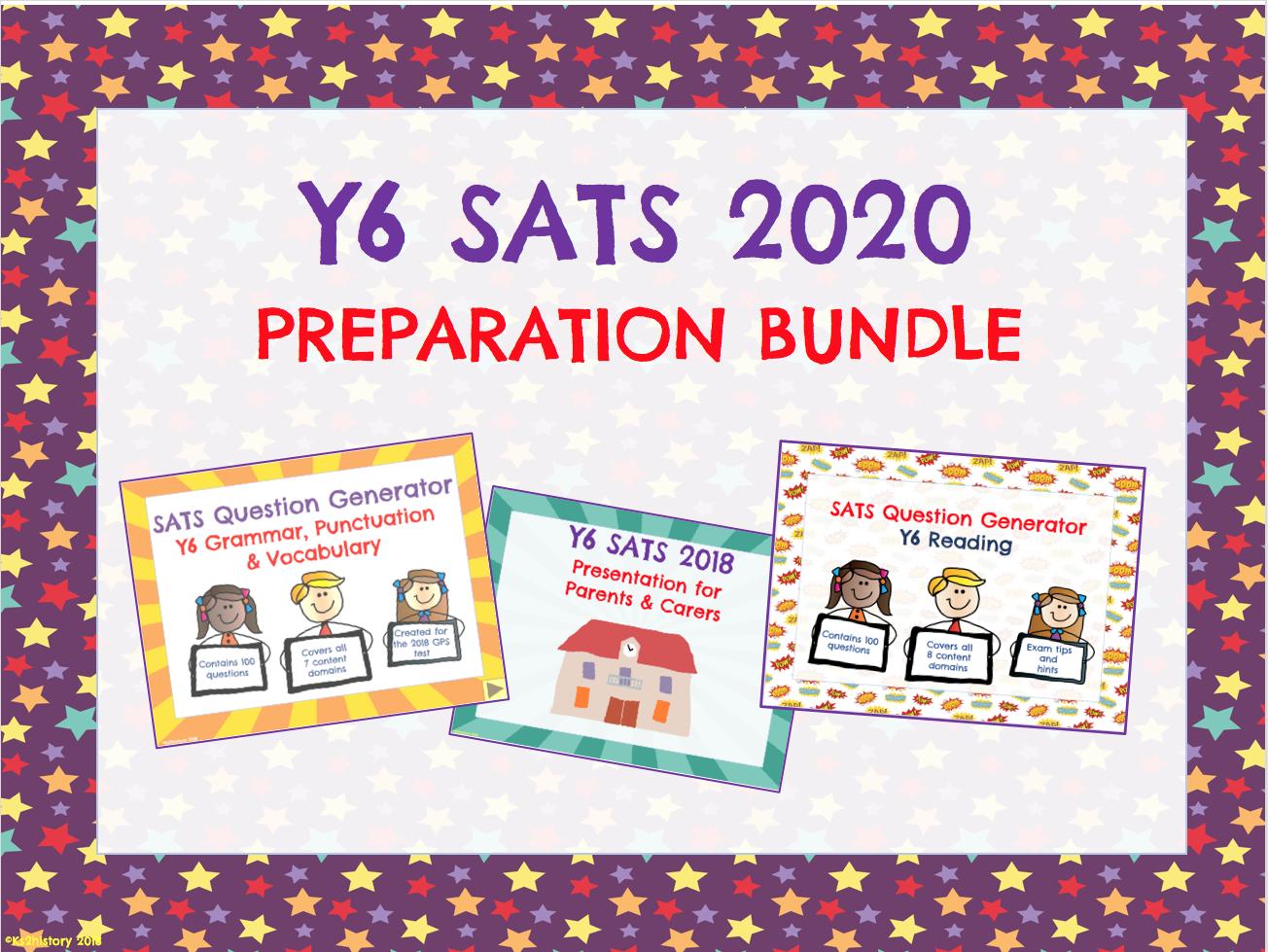 SATS Preparation 2020