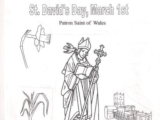 St. David's Day, March 1st