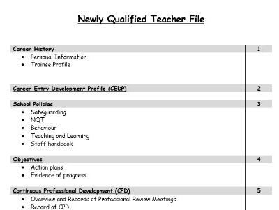 NQT File Dividers