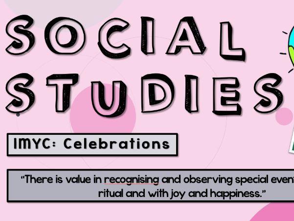 IMYC History Lesson Celebrations Unit