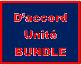 D'accord 1 Unité 1 Bundle