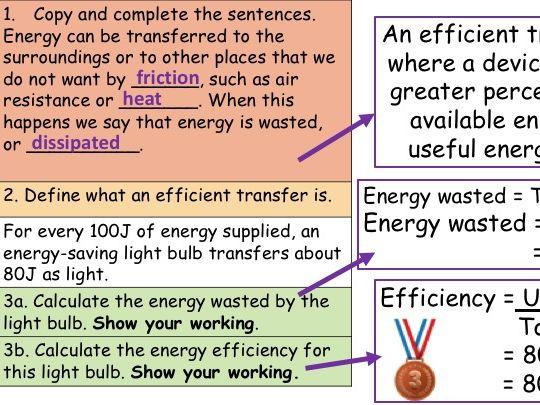 KS3 Energy Dissipation