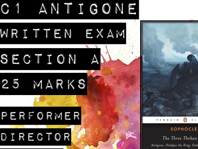 AQA A-level Antigone Set Text PPT and Resources