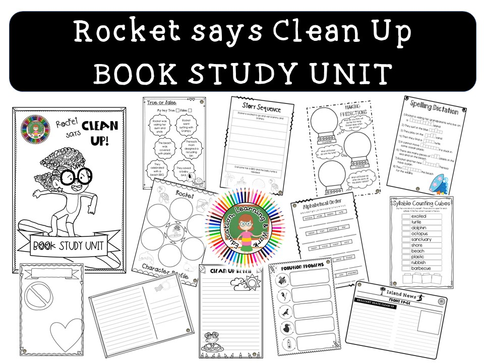 Rocket Says Clean Up - by Nathan Bryon