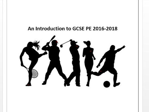 Edexcel New 9-1 GCSE PE - An Introduction to GCSE PE - Student Booklet