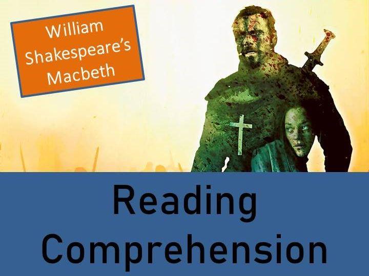 Macbeth Reading Comprehension Activity - Example