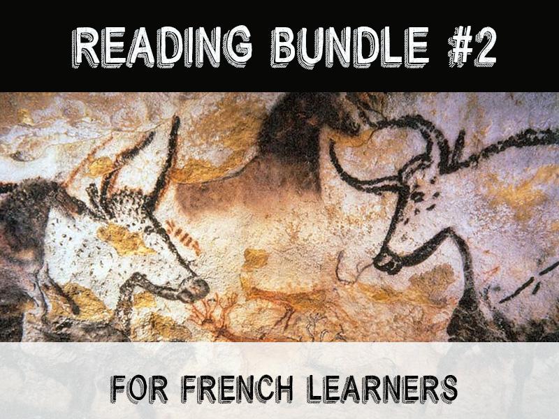 Intermediate French readings bundle #2