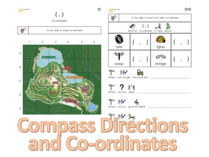 Co-ordinates and Compass Directions