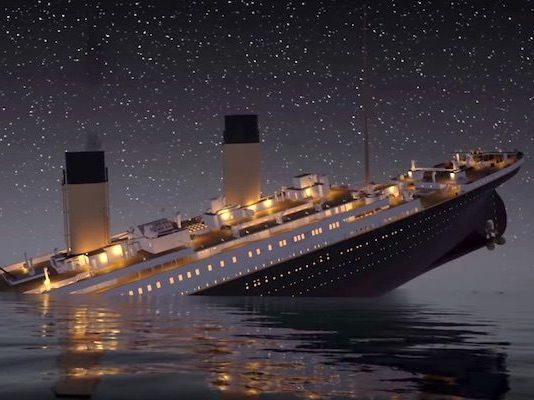 Titanic Theme Music with sound effects