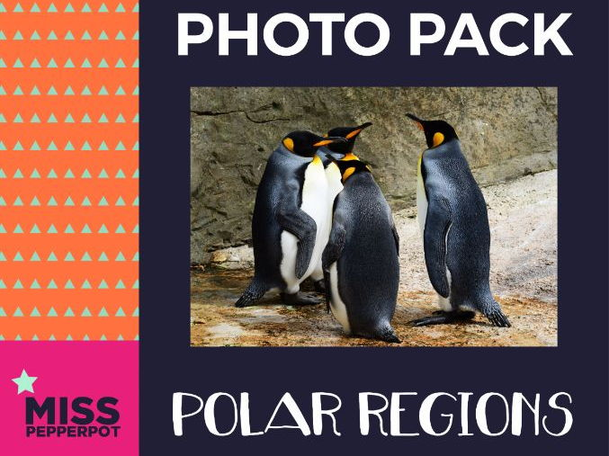 Polar Regions Photo Resource Pack