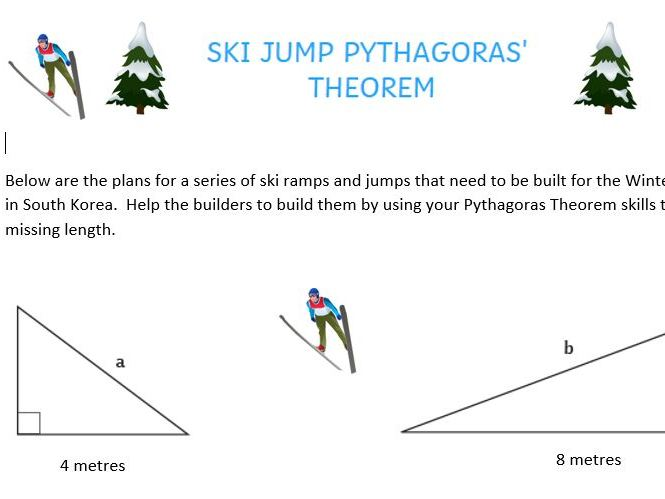 Maths Winter Olympics-Pythagoras Theorem