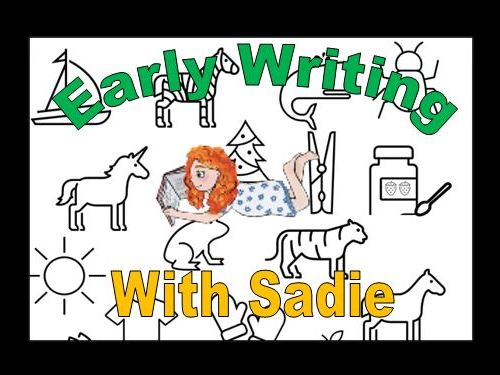 Early Writing Activity Booklet