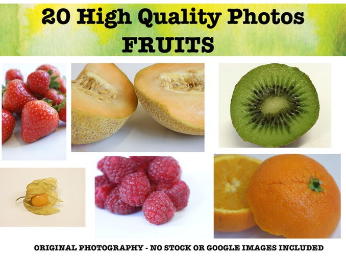 Fruits - Photo Resource Pack