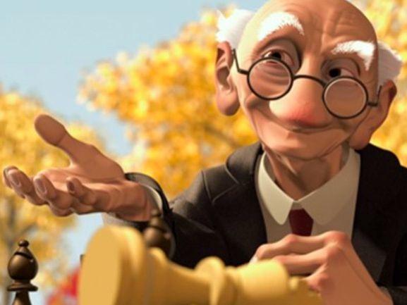 ESL  - Based on the short film GERI'S GAME (by Disney Pixar)