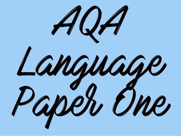 English Language Paper One Mock Feedback