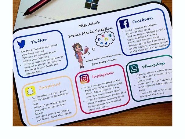 Social Media Selection