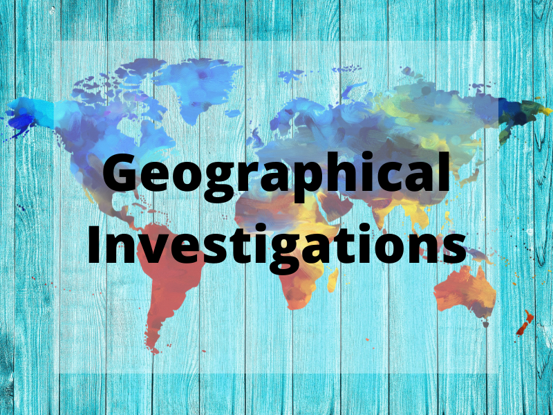 GCSE Geography Edexcel B - Personalised Learning Checklist (PLC) - Geographical Investigations