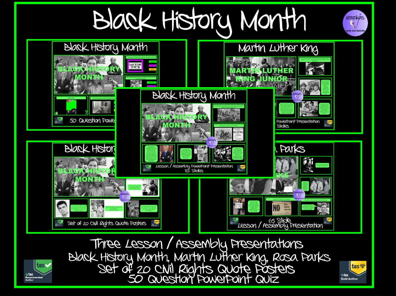 Black History Month Mega Bundle