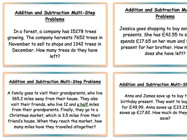 year 5 year 6 two lessons multi
