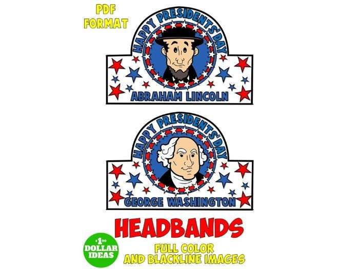 PRESIDENTS' DAY ACTIVITIES | HEADBAND | CROWN
