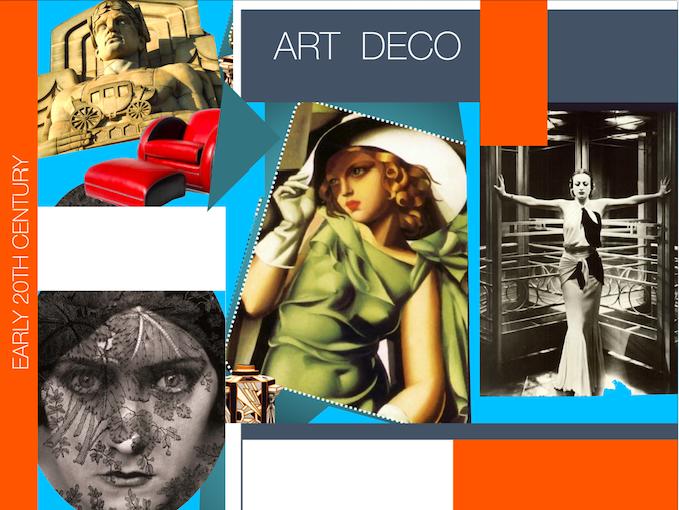 Art Deco ~ Art History ~ Art ~ 153 Slides