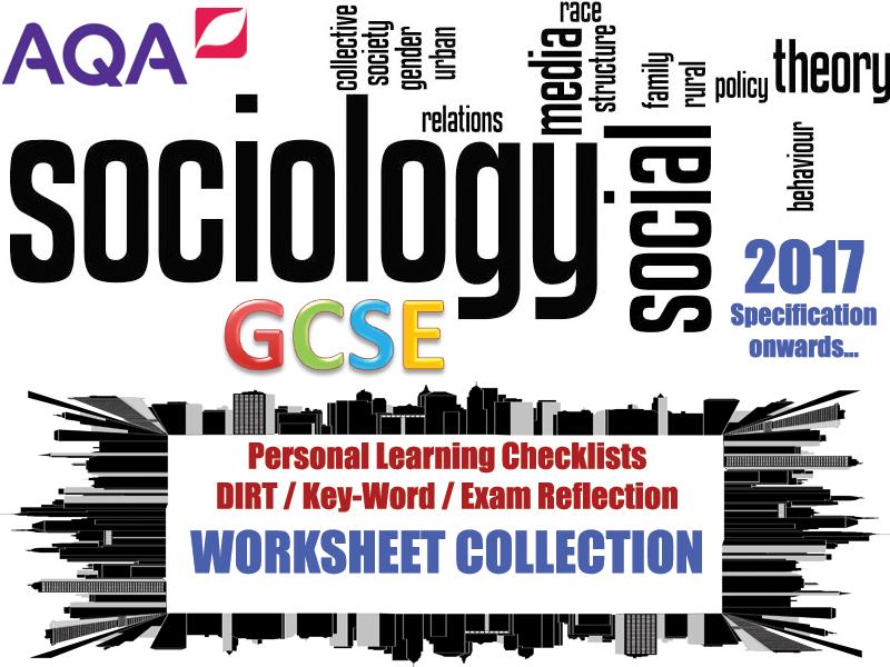 AQA GCSE Sociology PLC Pack!