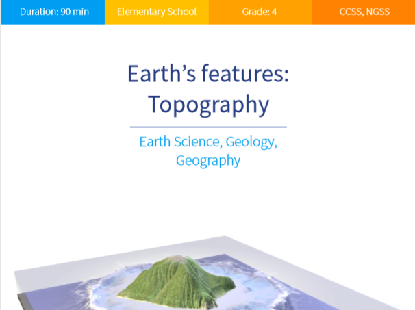 Earth's features: Topography