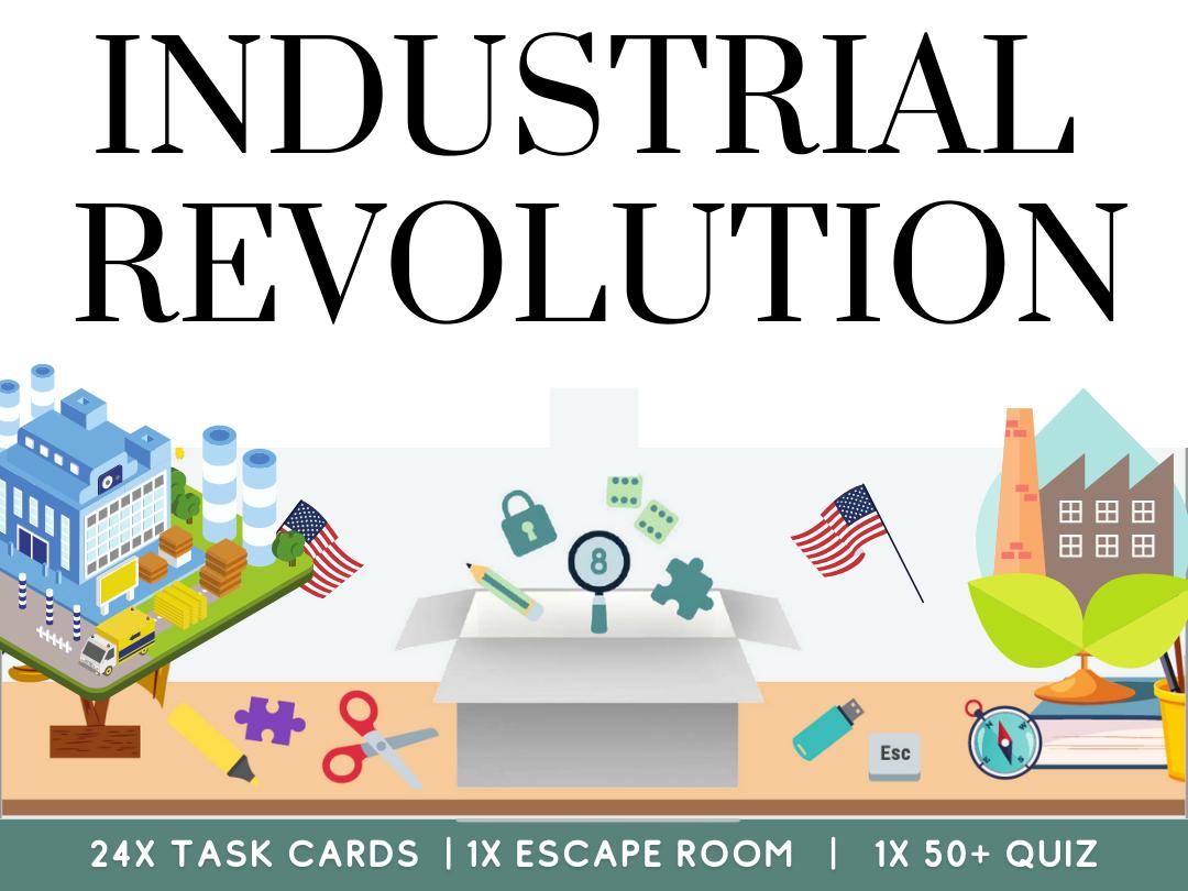 Industrial Revolution History Bundle