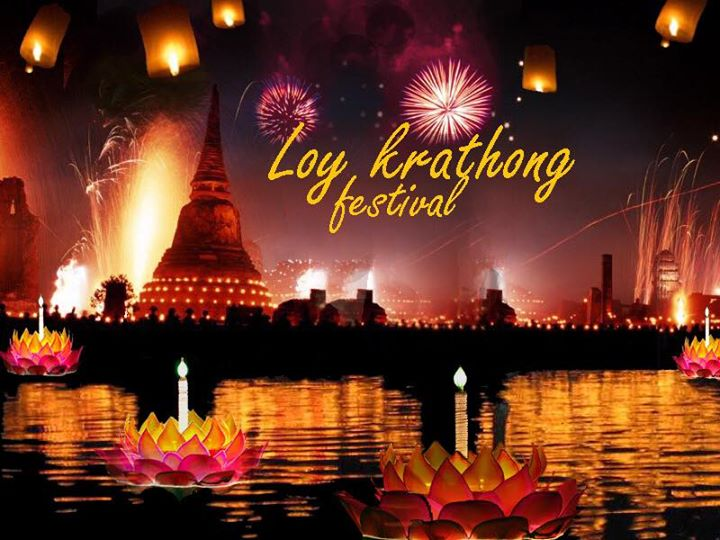 Loy Krathong School Assembly - 23rd November 2018 THAILAND!