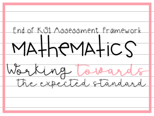 End of KS1 Mathematics Assessment Framework Year 2 Working Towards