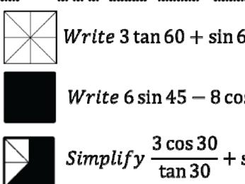 Exact Trig Value Calculations