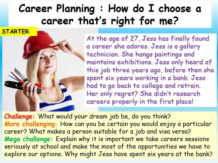 Careers : Career Planning