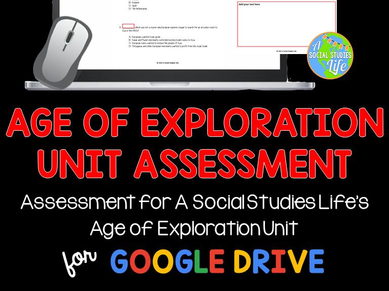 Age of Exploration Unit Test
