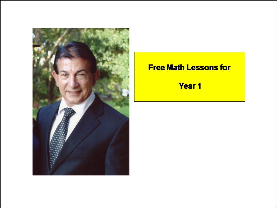 Year 1 Math Lessons ( PLEASE DOWNLOAD TO ACTIVATE LINKS )