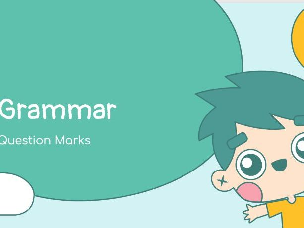 Using Question Marks-Introduction