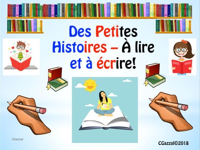 French Stories – to read and create.