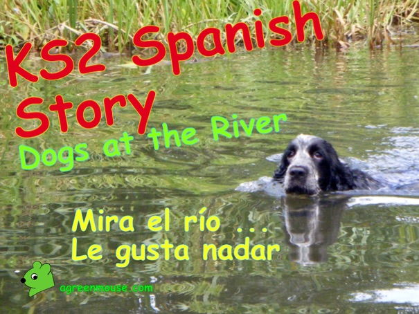 Spanish Dog Story - Verbs in the 3rd Person