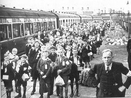 Evacuation to Shropshire in WWII