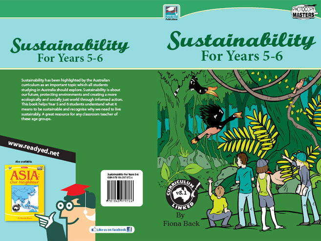 Sustainability for Years 5-6 (Australian E-book)