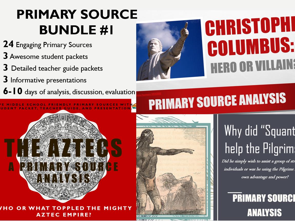 Primary Source Bundle #1