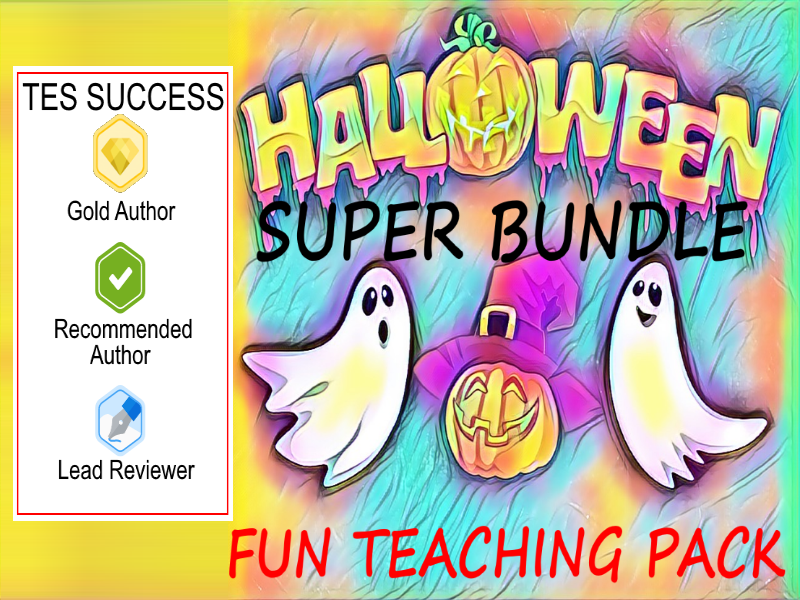 Halloween Teaching Bundle