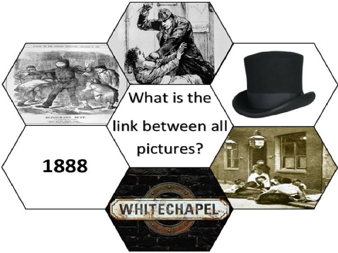 Jack the Ripper SoW: Lesson 1 - Introducing Whitechapel