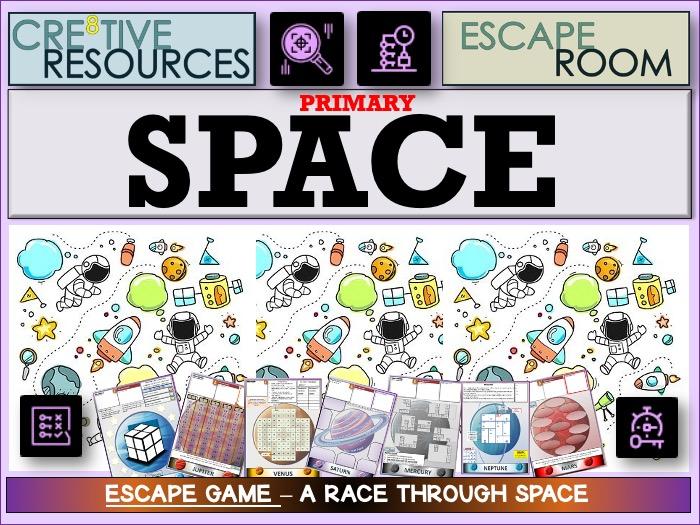 Primary KS2 Space  Escape Room