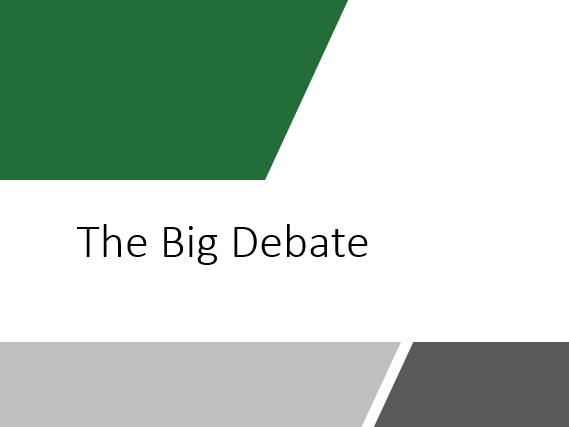 The Big Debate Tutor Time or Assembly