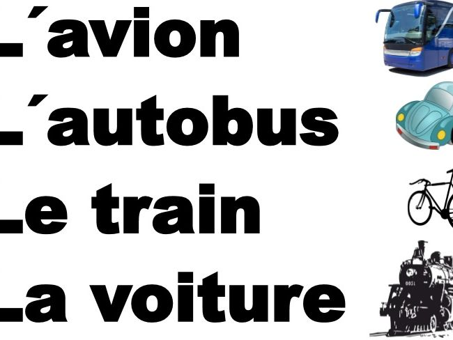 French - Le transport